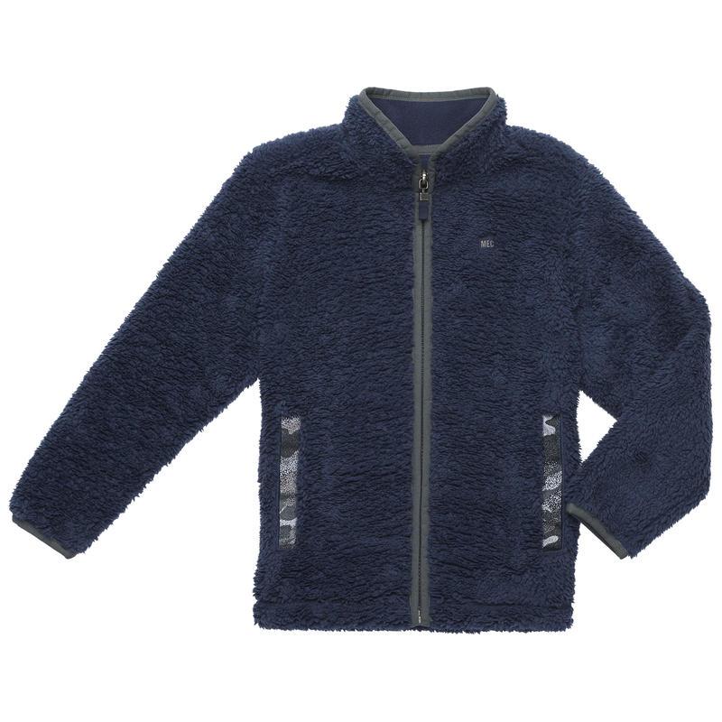 Manteau Whirlwind Bleu minuit/Imprimé camouflage vert carbone