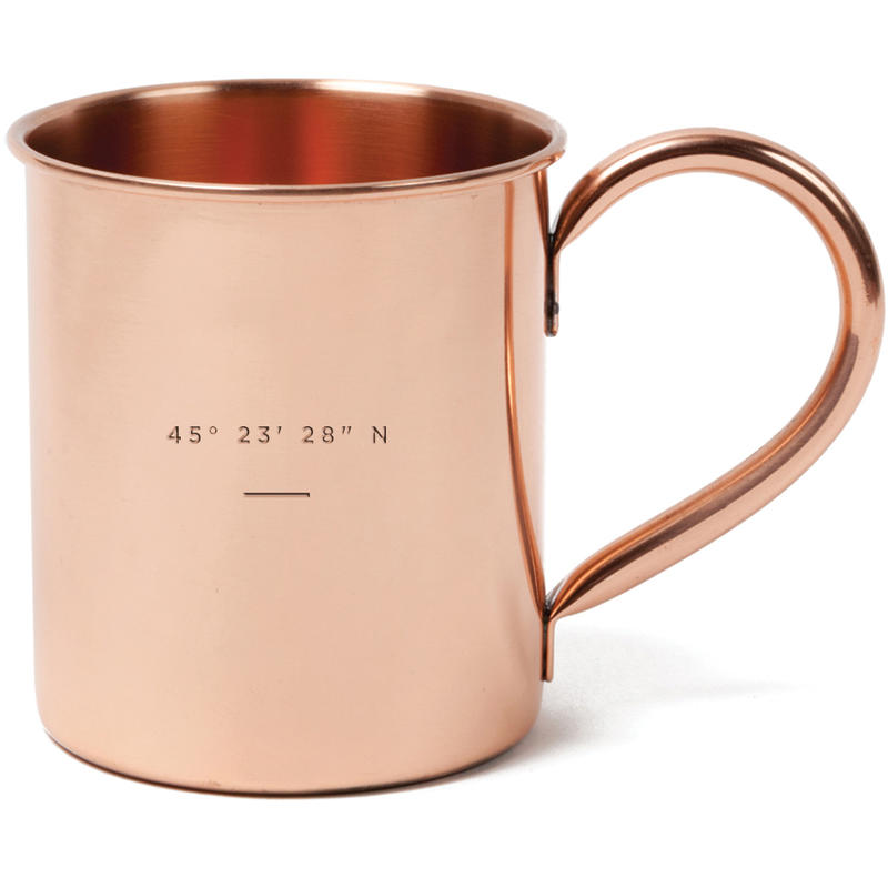 United By Blue Copper Mule Mug Ottawa Mec