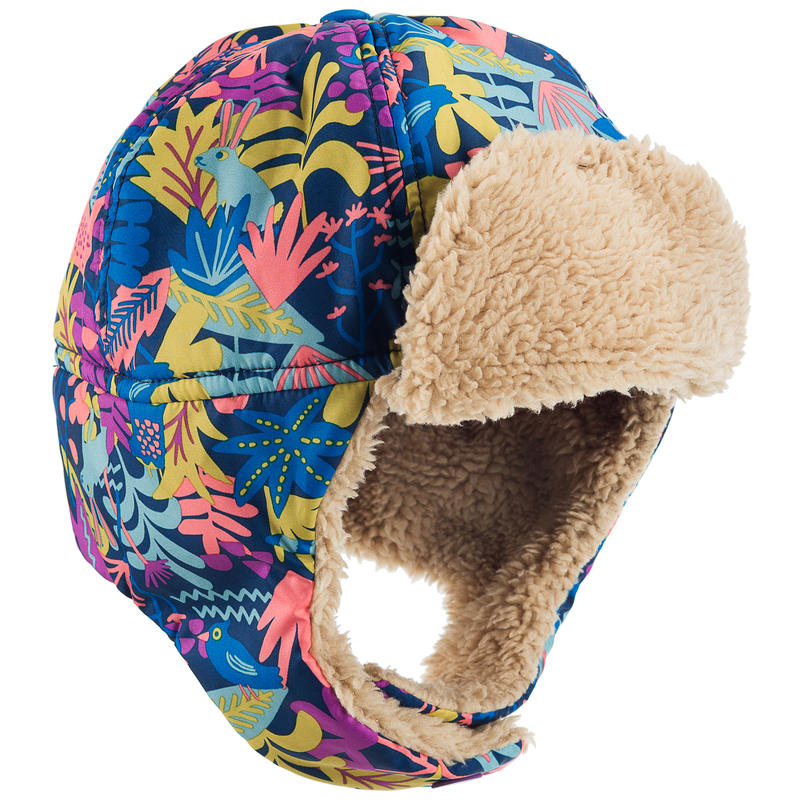 Cocoon Trapper Hat Coral Reef Wild Forest Print