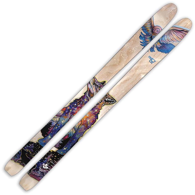 Skis Flute XTC en carbone