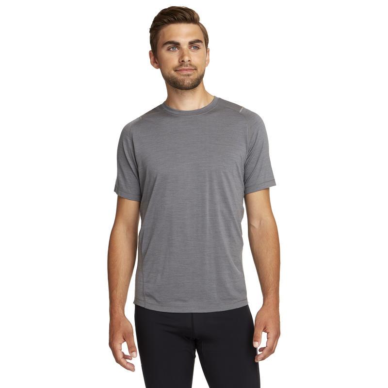 Argo Merino Short Sleeve Tee Mason Grey