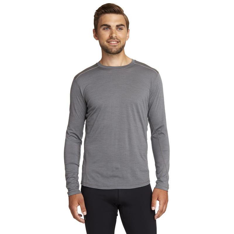 Argo Merino Long Sleeve Tee Mason Grey