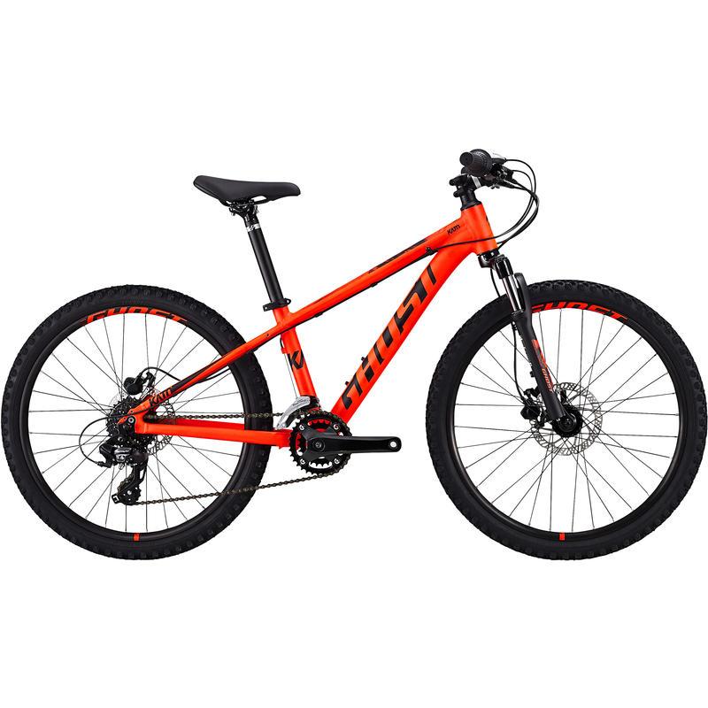 "Kato 24"" Bicycle Neon Red/Night Black"