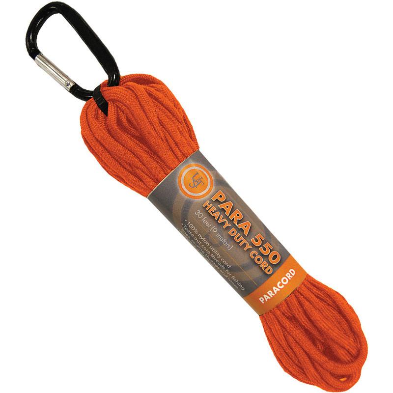 Paracorde 550 - 9 m / 30 pi Orange
