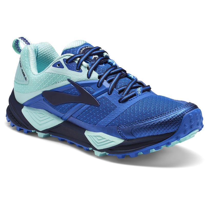 Chaussures de course Cascadia 12 Marine/Bleu/Menthe