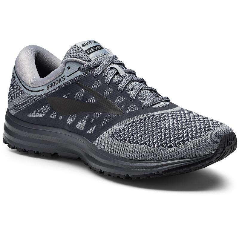 Chaussures de course sur route Revel Gris/Ébène/Noir