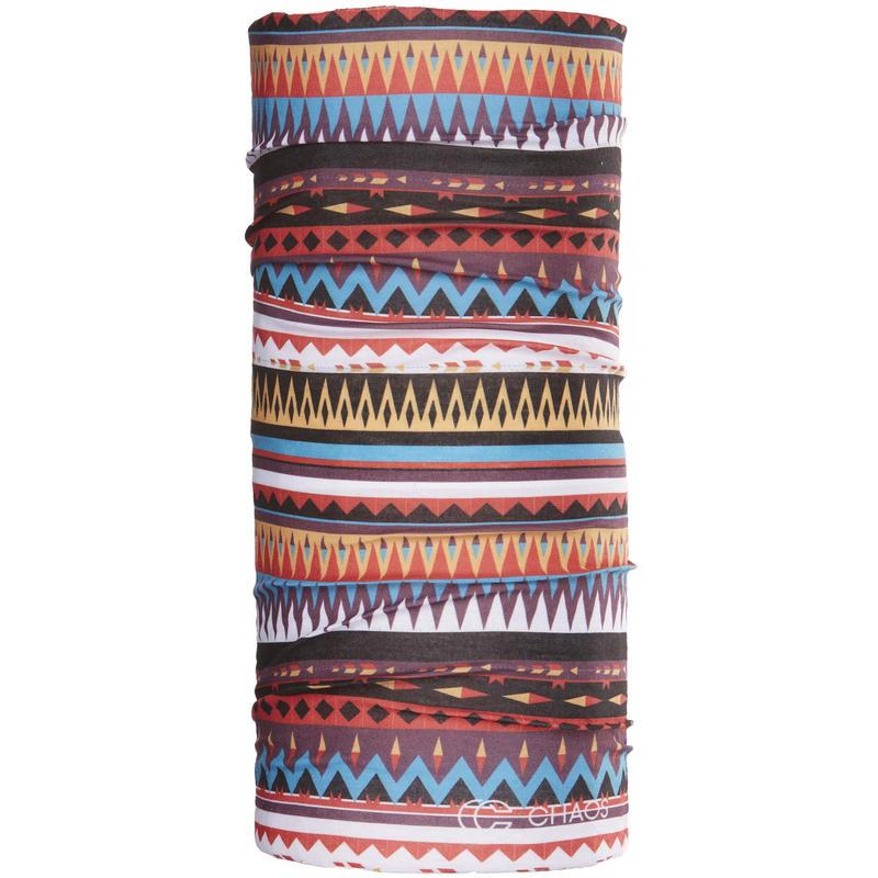 Foulard tubulaire Multi ZigZag multicolore