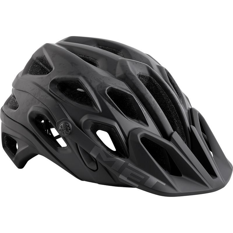 Lupo Bicycle Helmet Black Texture