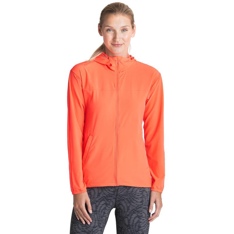 Tempo Wind Breaker Jacket Neon Coral