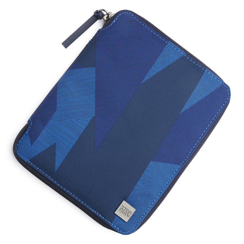 Transworld Travel Wallet Cobalt Abstract Laser Print