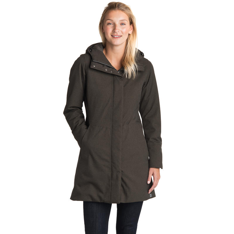 Confidante Insulated Jacket Black Olive Heather