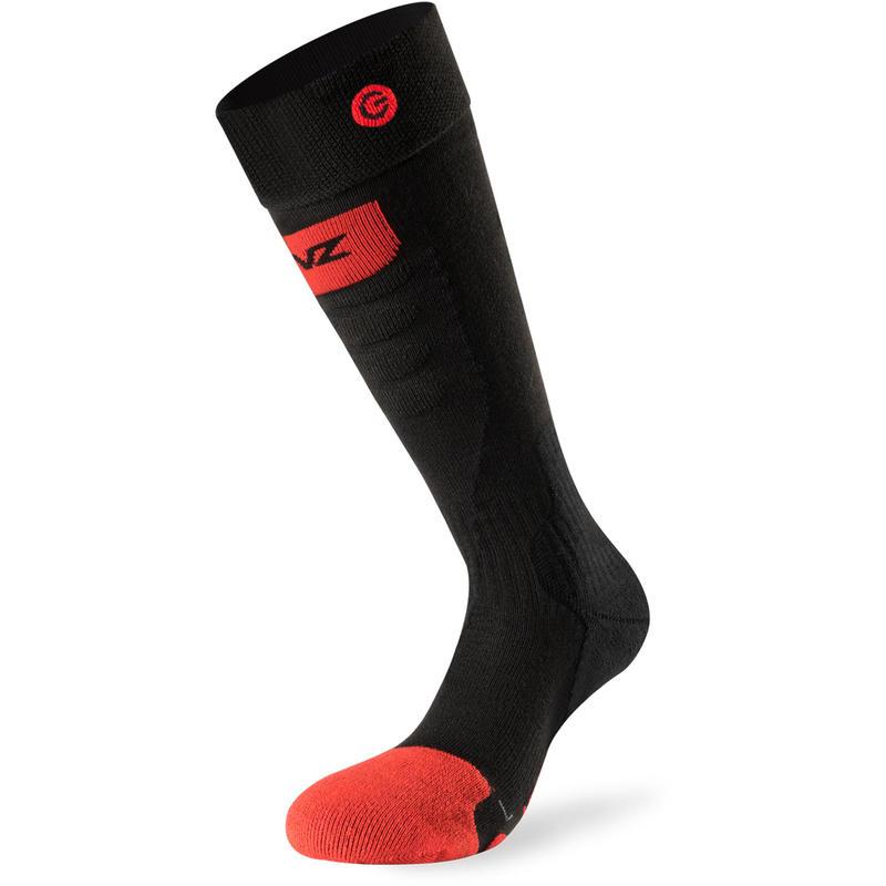 Chaussettes Heat Sock 5.0 Slim Fit Noir/Rouge/Gris