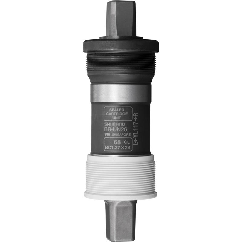 Pédalier Alivio UN26 68x117,5 extrémité carrée
