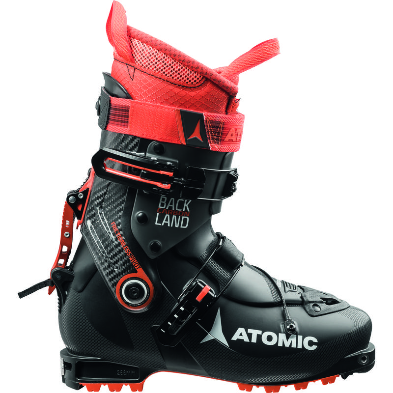 Bottes de ski Backland en carbone Noir/Anthracite/Orange