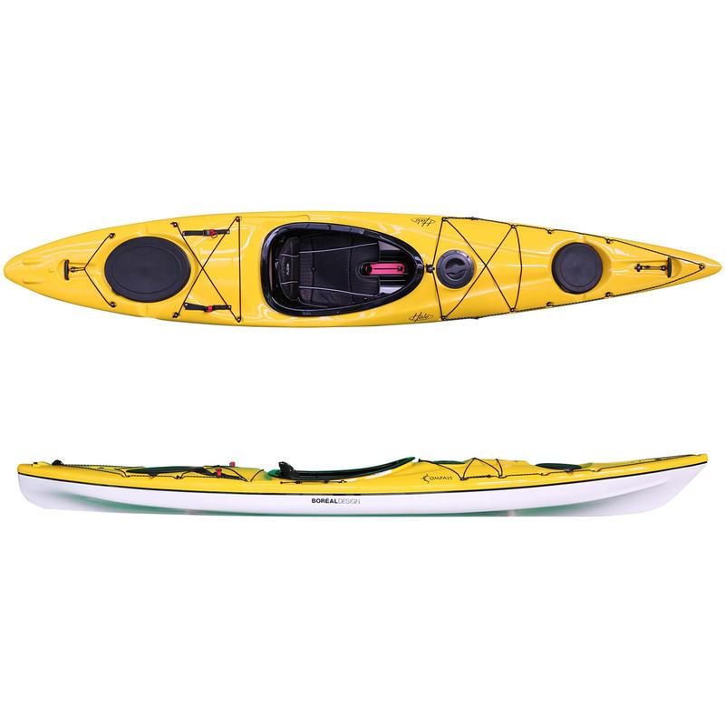 Kayak Compass SR140 Jaune/Blanc