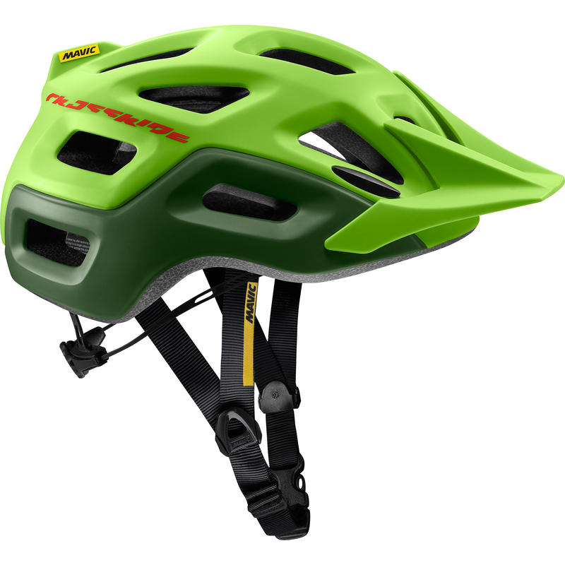 Crossride Cycling Helmet Lime Green/Chive