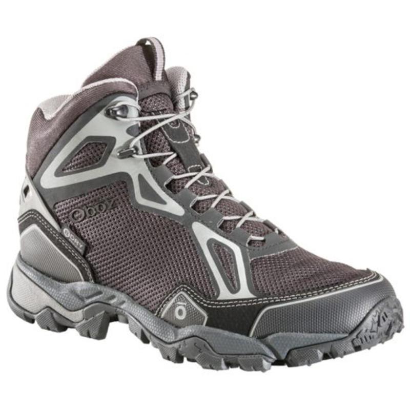 Chaussures de randonnée légère Crest Md Bdry Argent sombre