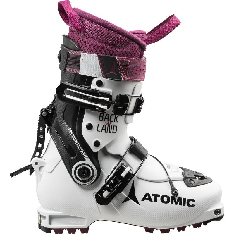 Bottes de ski Backland Blanc/Pourpre