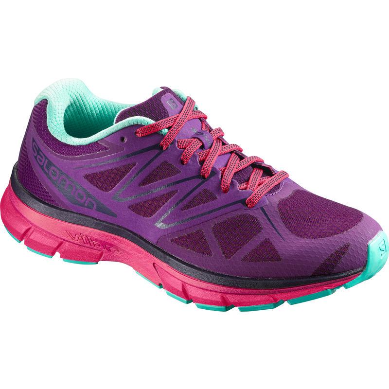 Chaussures de course sur route Sonic Jus de raisin/Rose virtuel/Vert biscayen