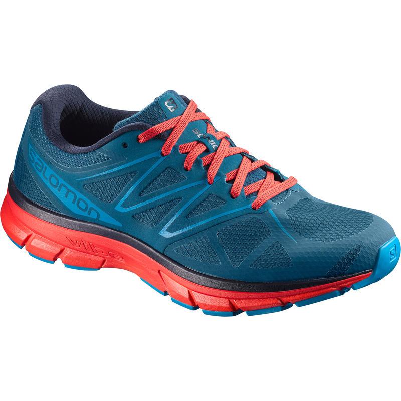 Chaussures de course sur route Sonic Bleu marocain/Rouge fougueux/Surf hawaïen