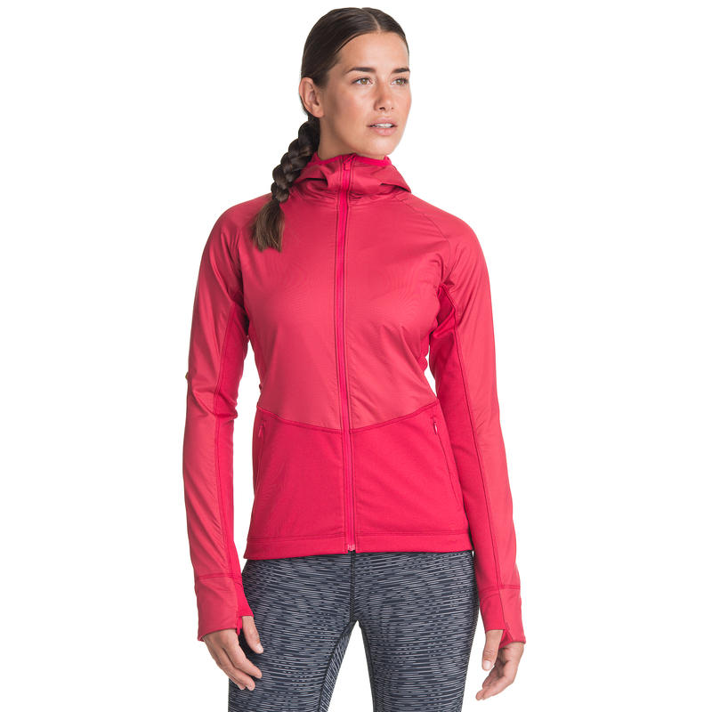 Nitro Thermal Run Jacket Dark Raspberry