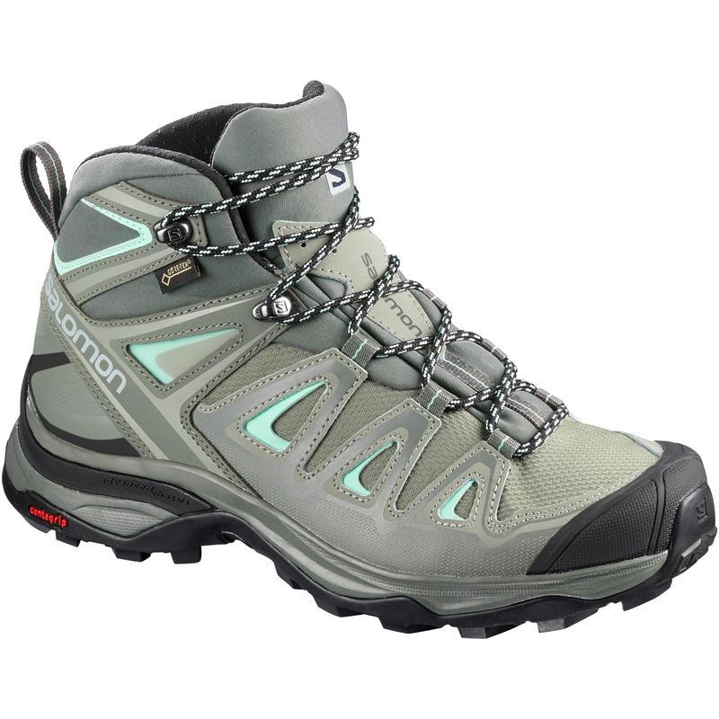 Chaussures de randonnée légère X Ultra Mid 3 GTX Ombre/GrisCastr/VerrePlag