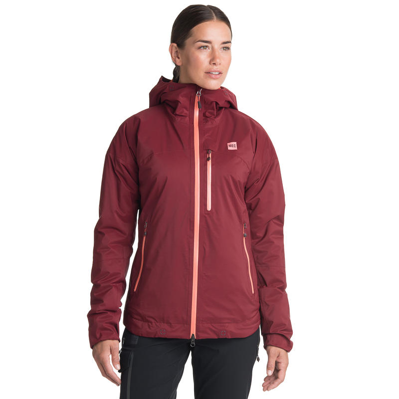 Socked-In Hoodie Red Oxide