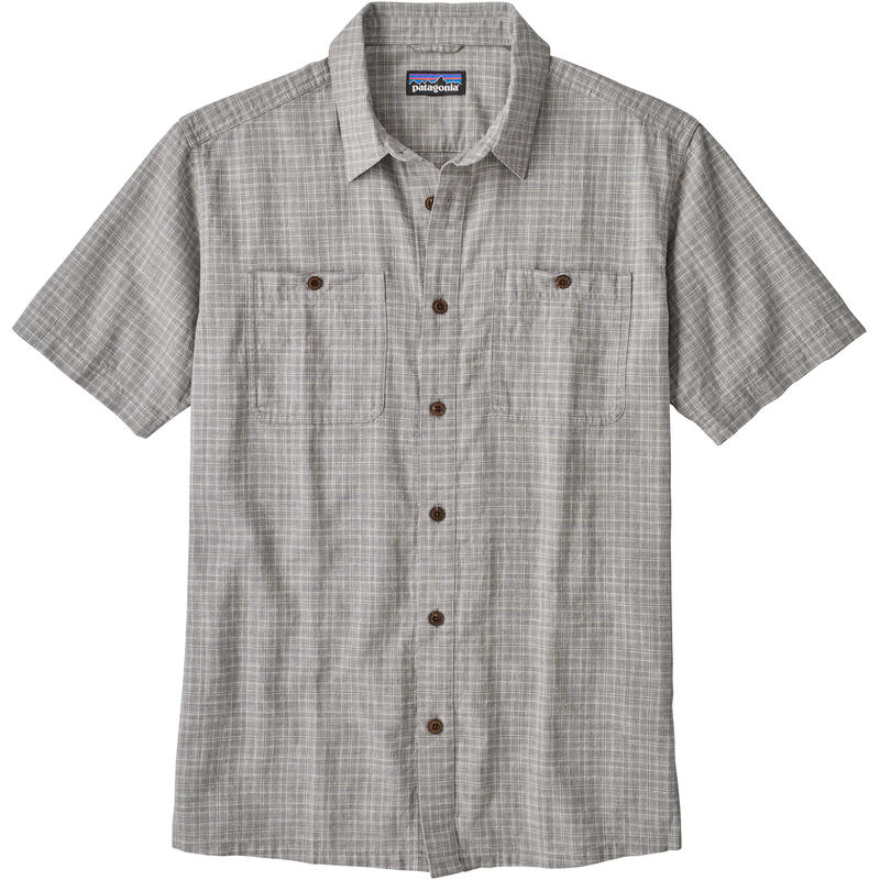 Back Step Shirt Tino/Feather Grey