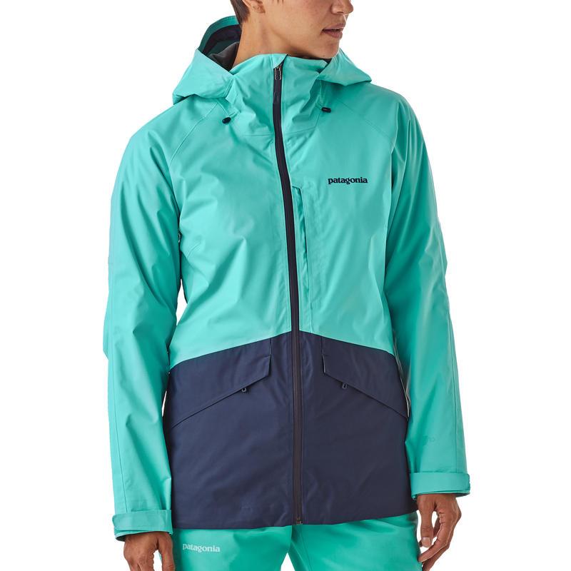 Manteau isolant Snowbelle Bleu détroit