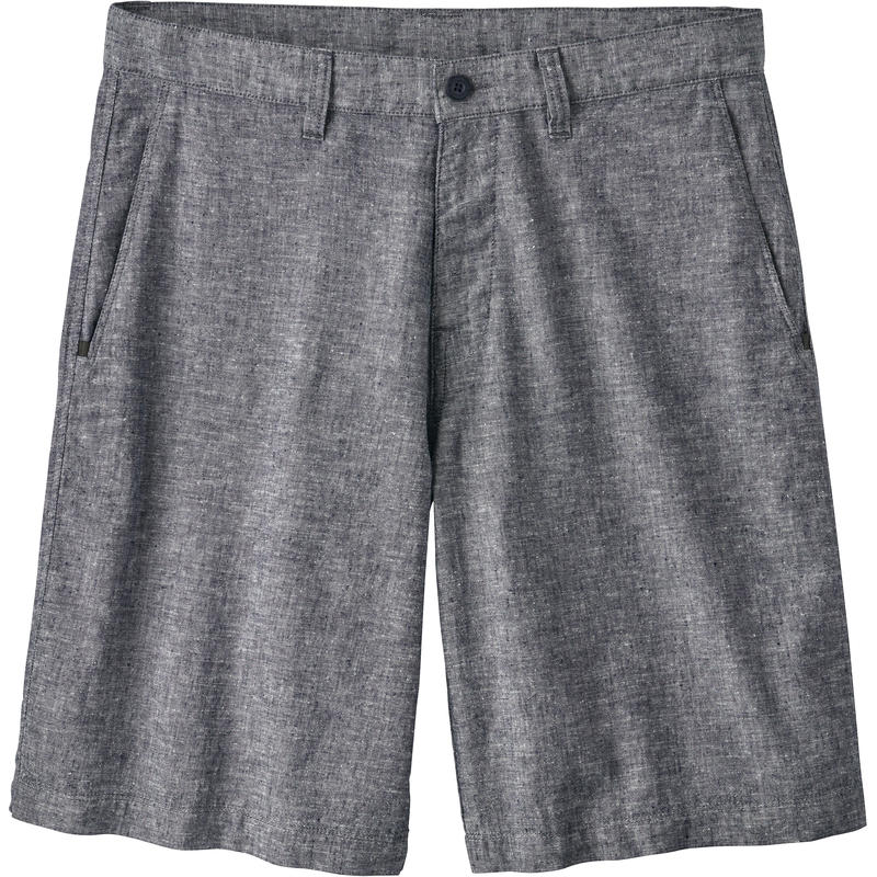 Back Step Shorts Chambray/Classic Navy