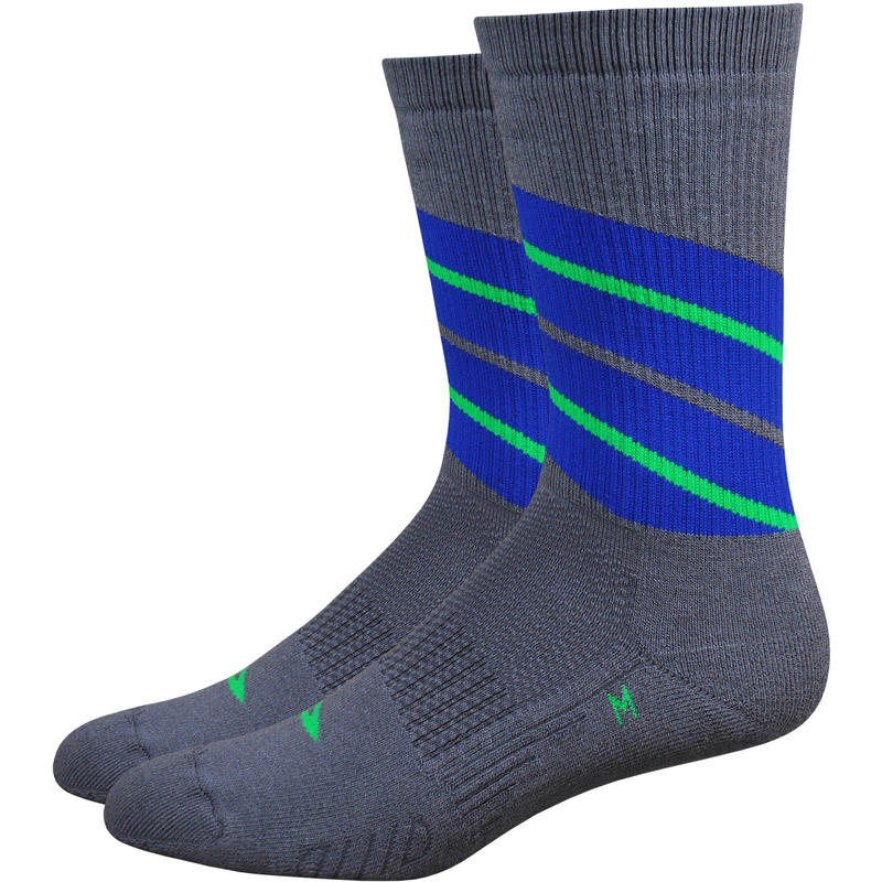 Thermeator Hollow Core Socks Twister Graphite/Blue Stripe