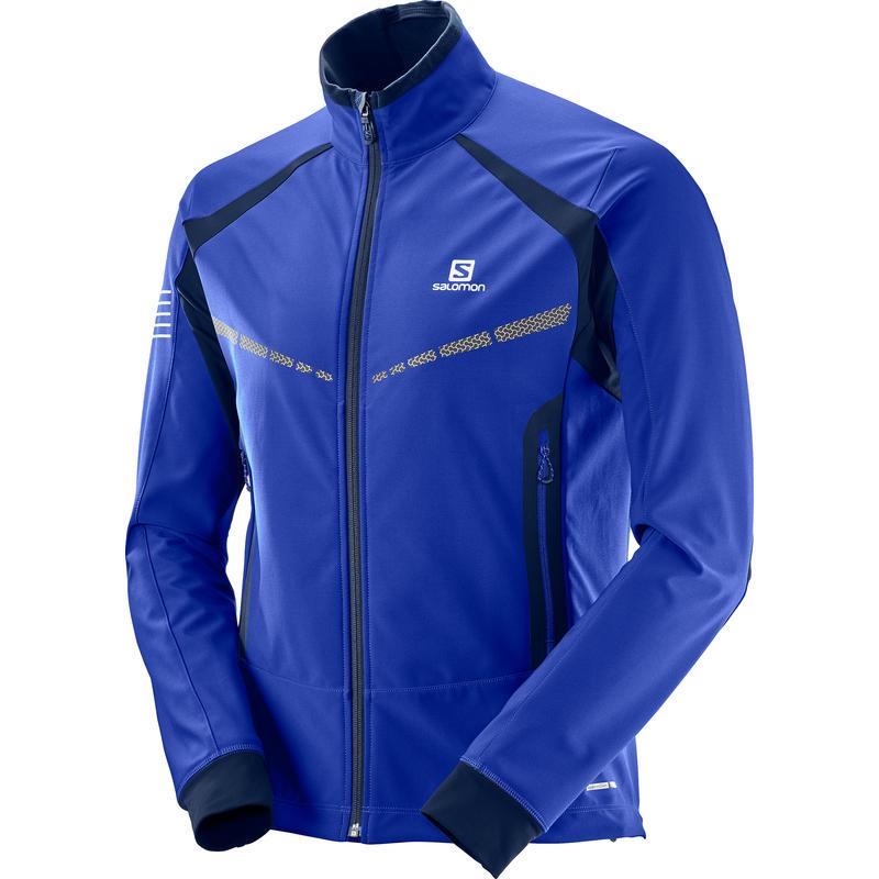 Manteau coquille souple RS Warm Surfer le Web/Robe bleue