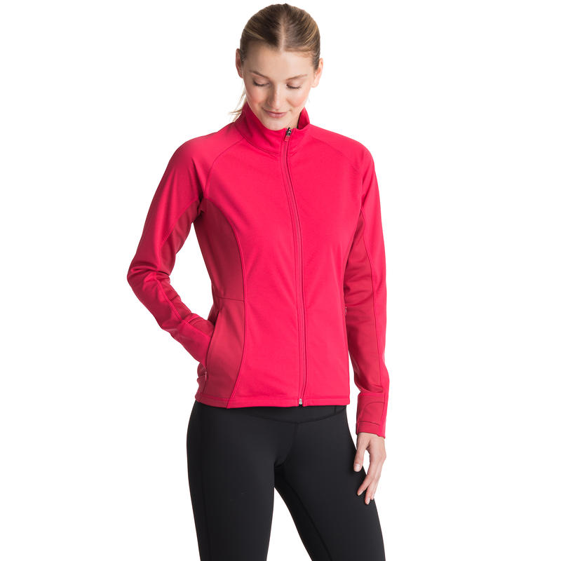 Stride Jacket Virtual Pink/Dark Raspberry