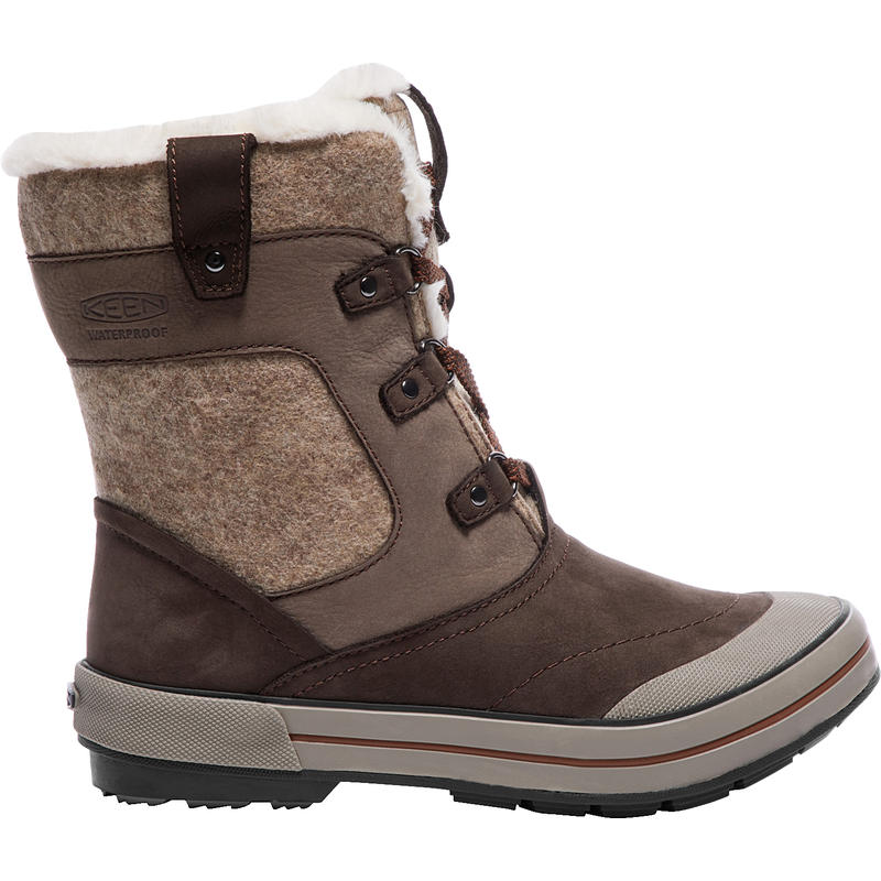 Elsa Premium Mid Waterproof Winter Boots Espresso/Montana Grape