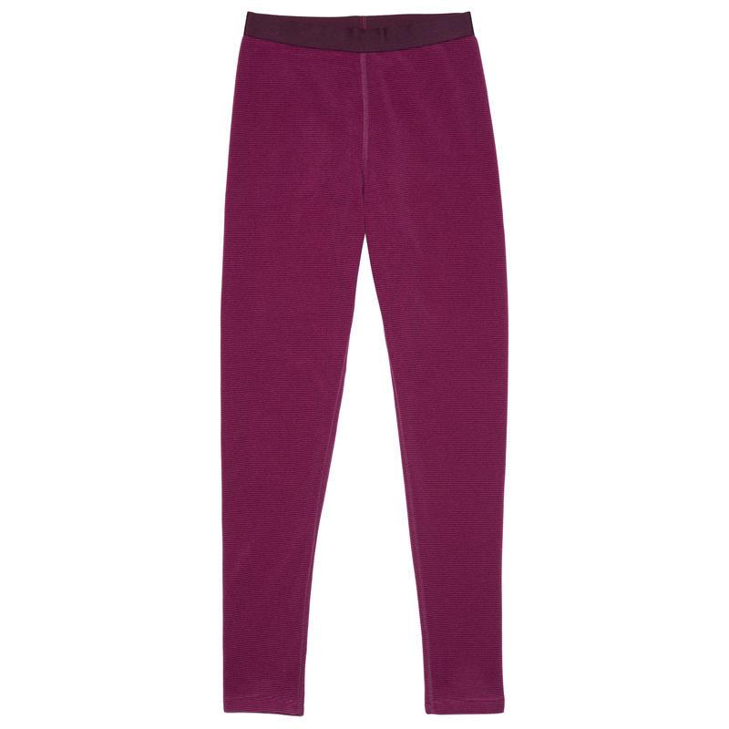 Stratosphere Tights Petunia-Potent Purple Piccolo Stripe