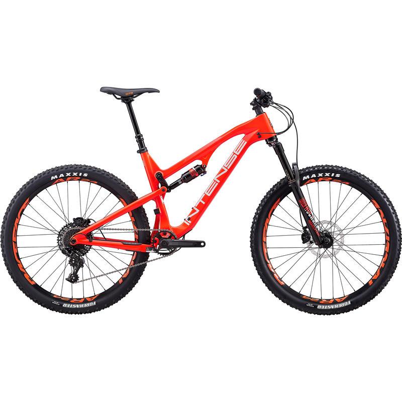 Vélo Spider - série Foundation Rouge/Argent