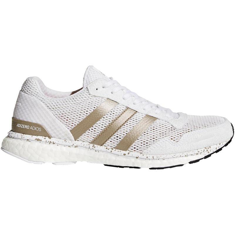 Chaussures de course sur route Adizero Adios Blanc/Métallique cyber