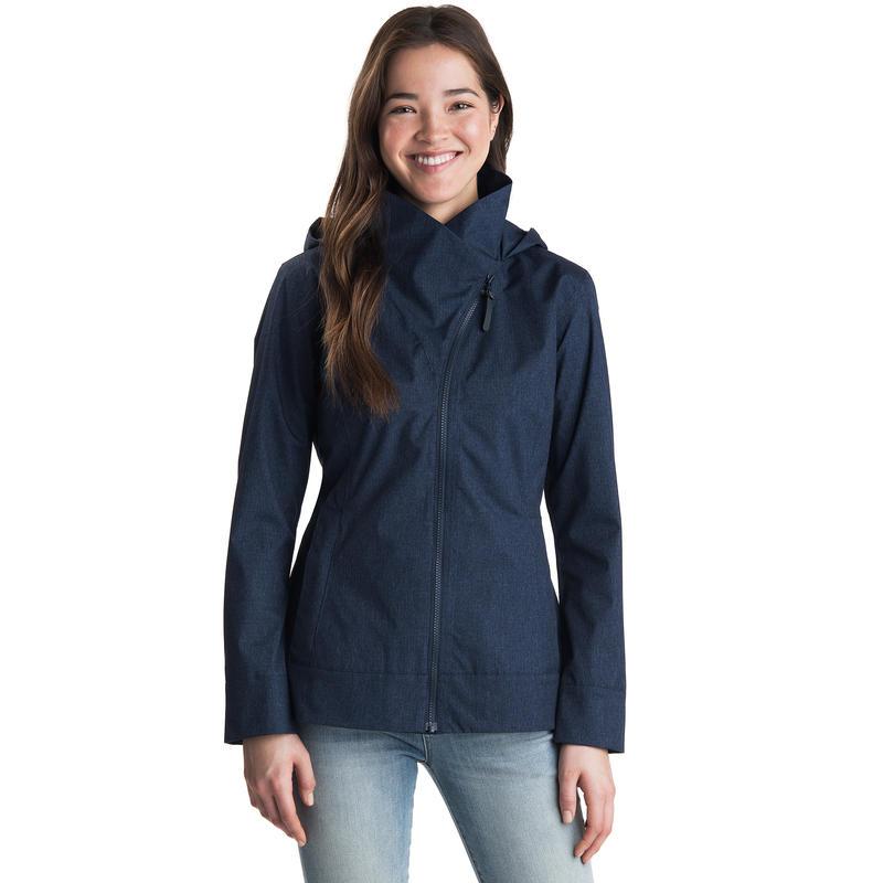 Sidestreet Rain Jacket Midnight Blue Heather