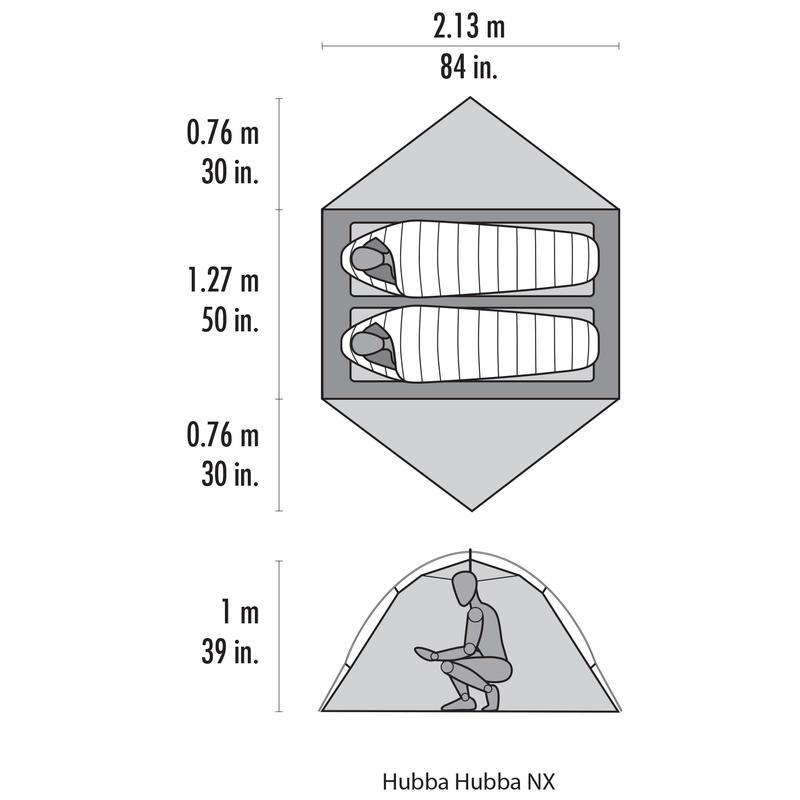 MSR Hubba Hubba NX 2-Person Tent (2018) 15baf2df2e