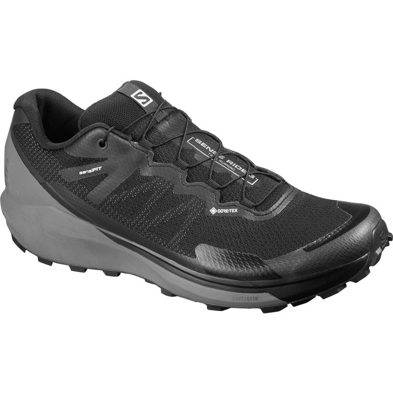 Salomon Sense Ride 3 Gore-Tex Invisible Fit Trail Running Shoes