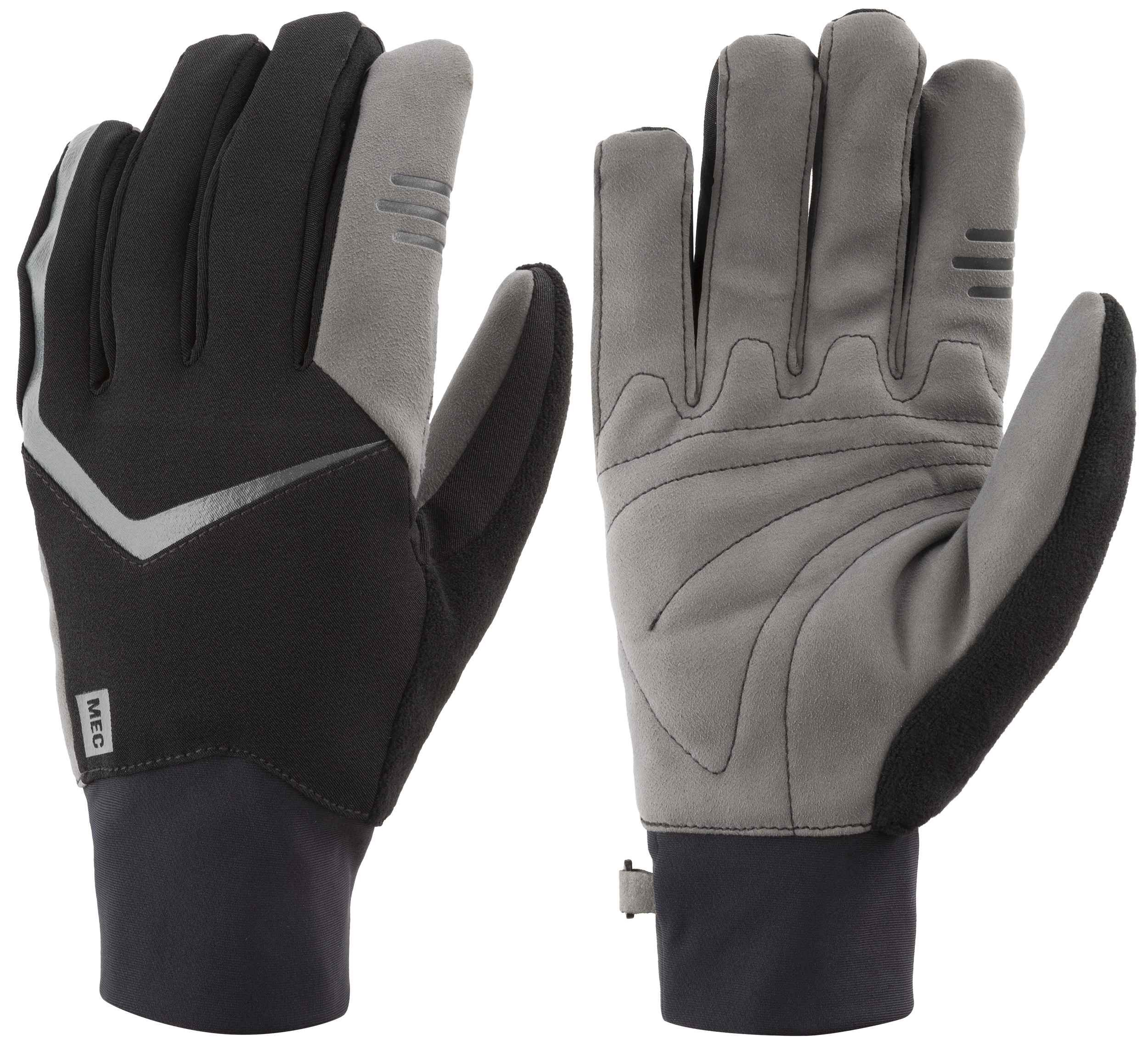 Driving gloves london ontario - Glide Xc Midweight Gloves Black Dark Grey