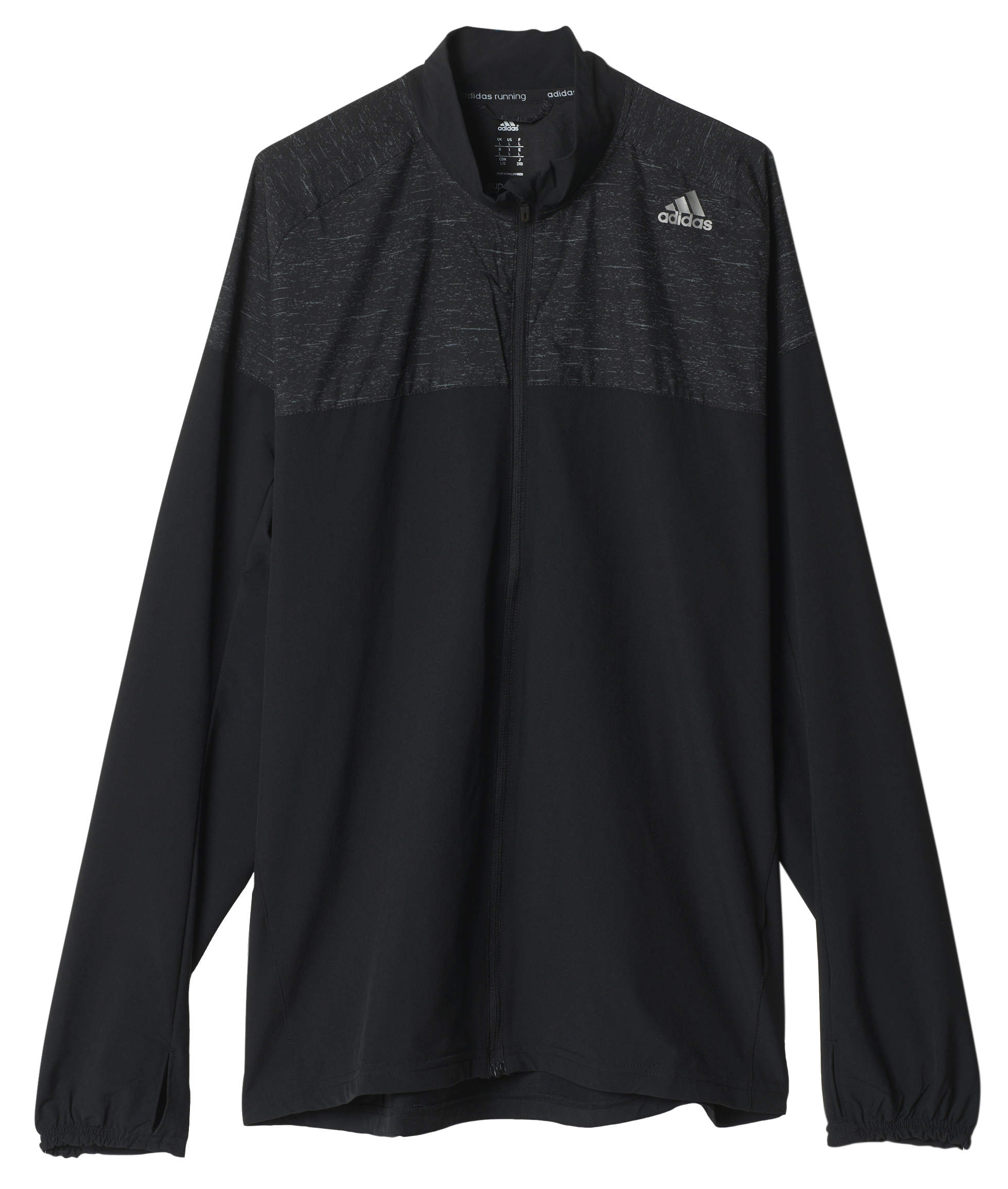 adidas Supernova Storm Mens Running Jacket Black | eBay