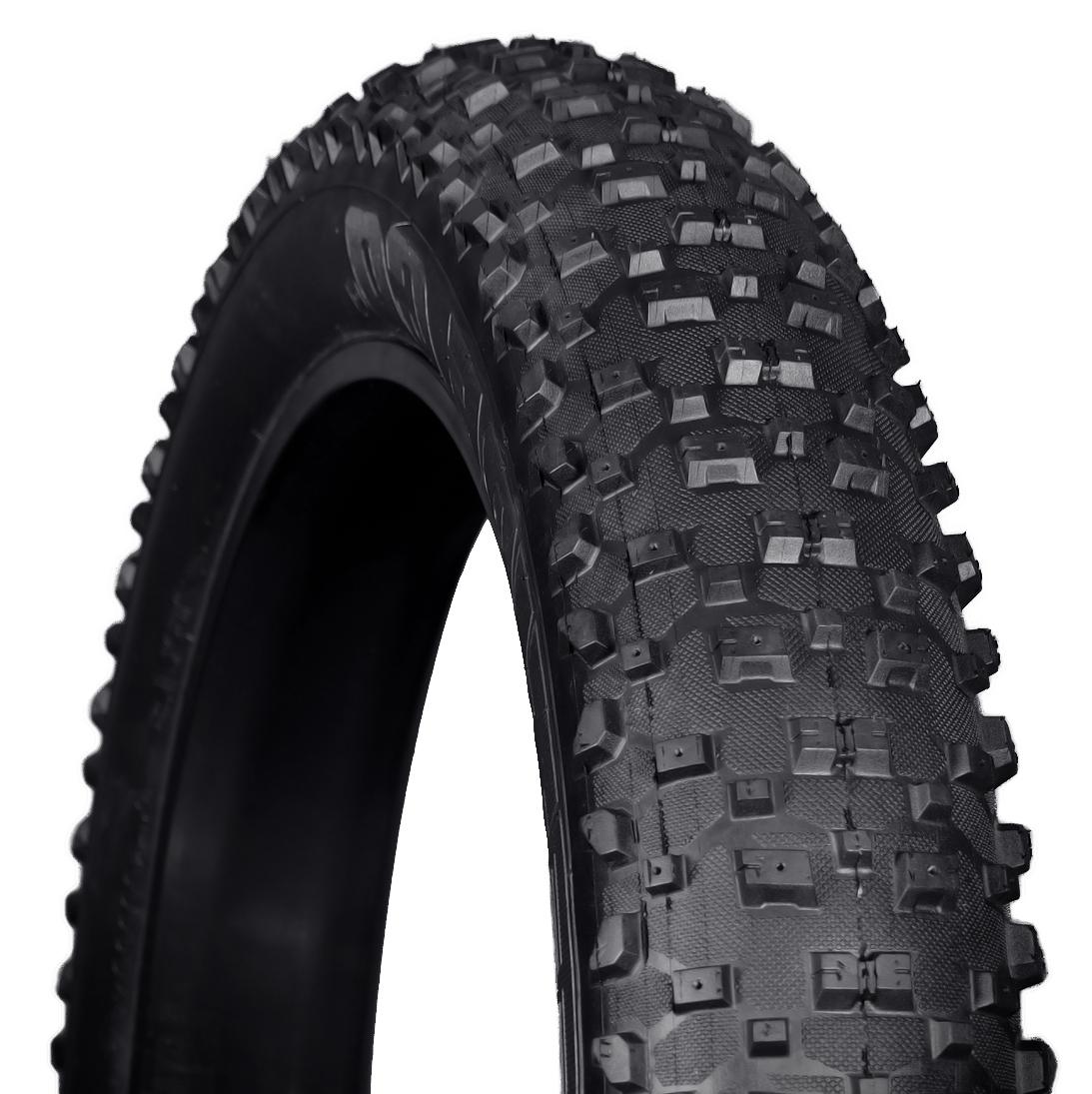 "2-Pack VEE Rubber STUDDED SnowShoe XL 26/"" x 4.8/"" Folding Fat Bike Tires Tubeless"