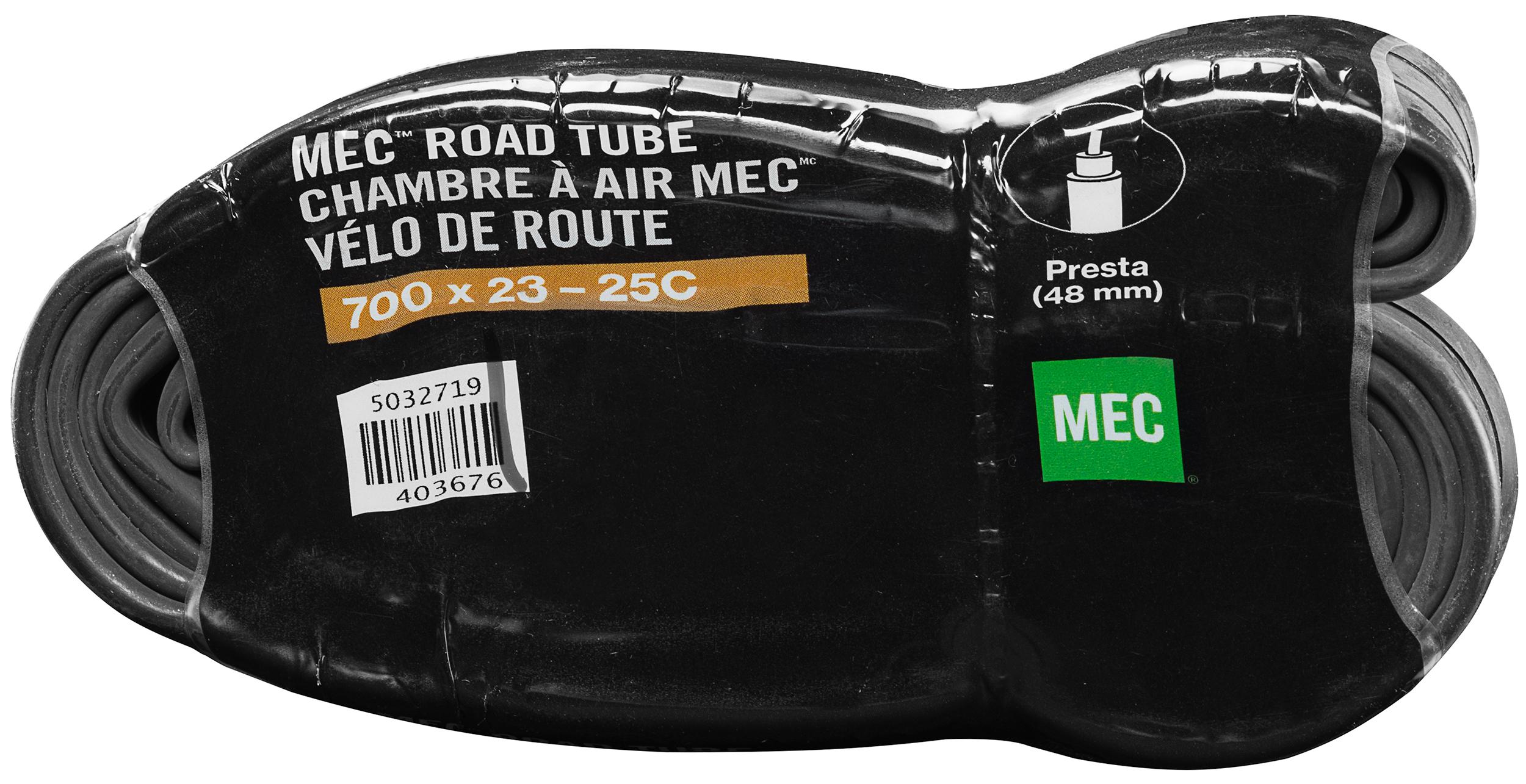 MEC 700 x 23-25C Tube (48mm Presta Valve) Chambre Air X C on