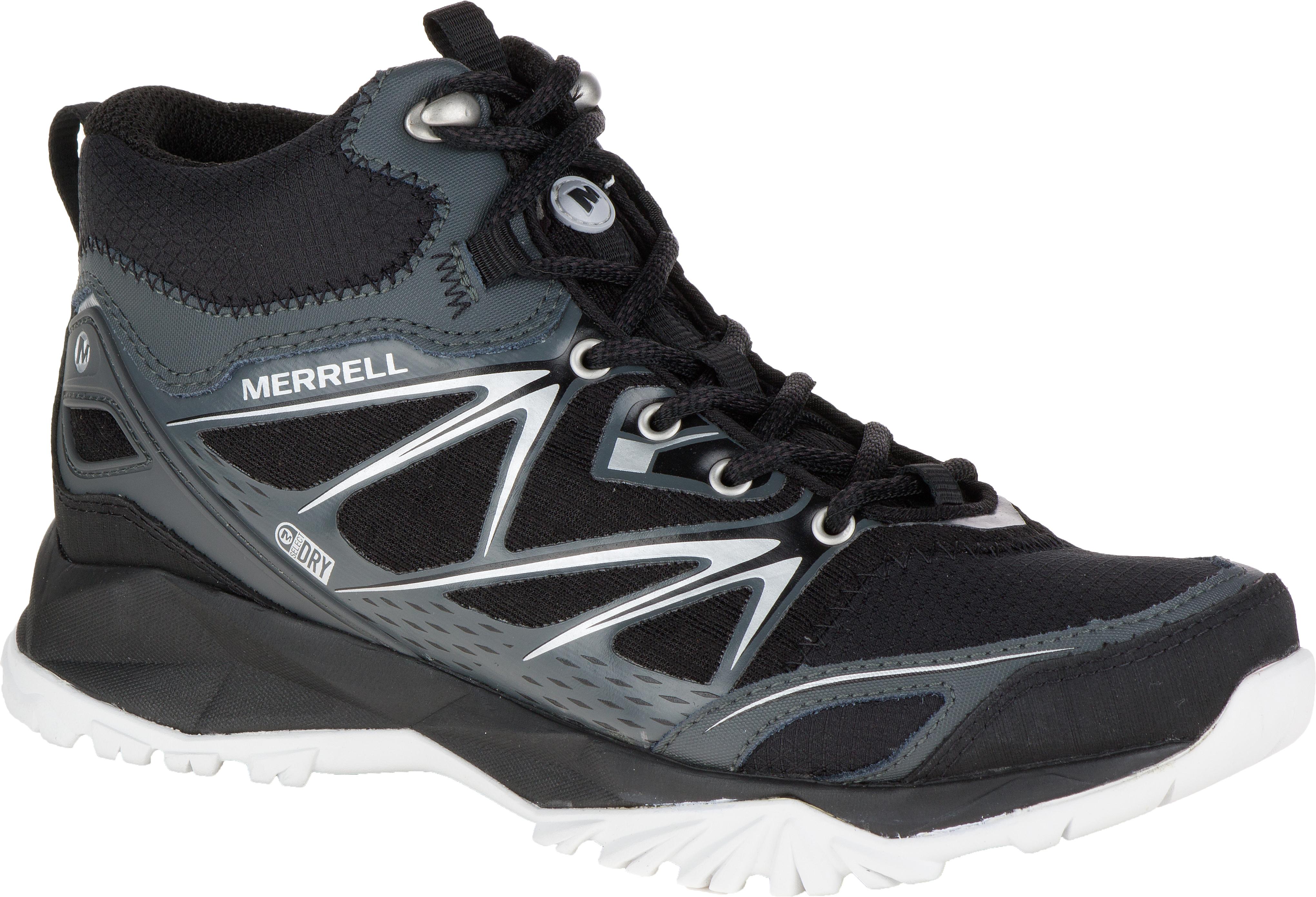 a55784990d85 Merrell Capra Bolt Mid Waterproof Light Trail Shoes - Women s