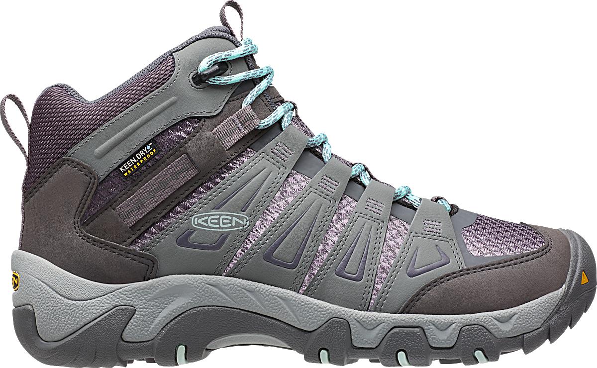 d5f6fc7a239 Keen Oakridge Mid Waterproof Light Trail Shoes - Women's