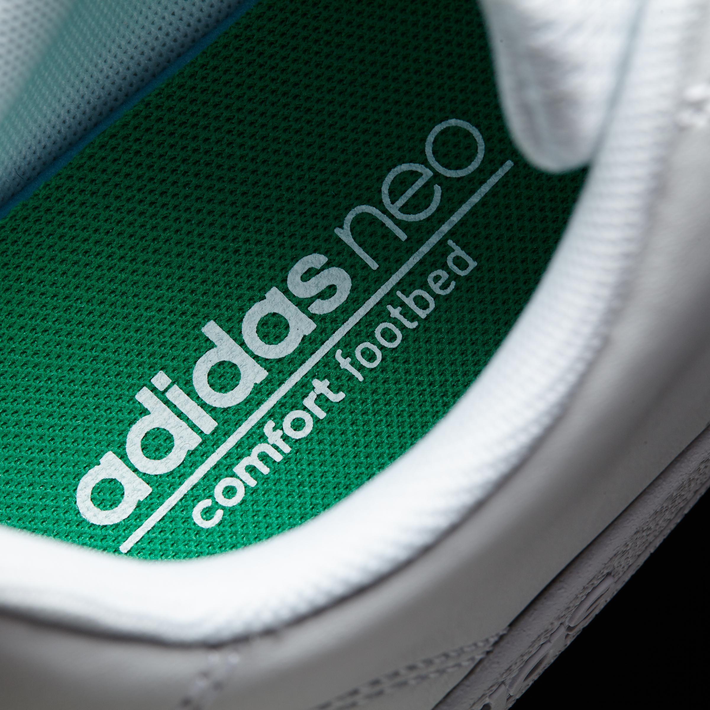 Resultado de imagen de adidas advantage white green