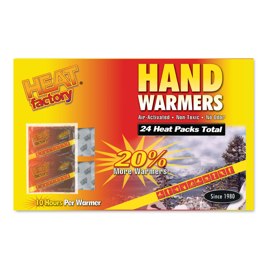 6-pack New Hrs Of Heat Grabber Ultra Warmer Hand Warmers 24