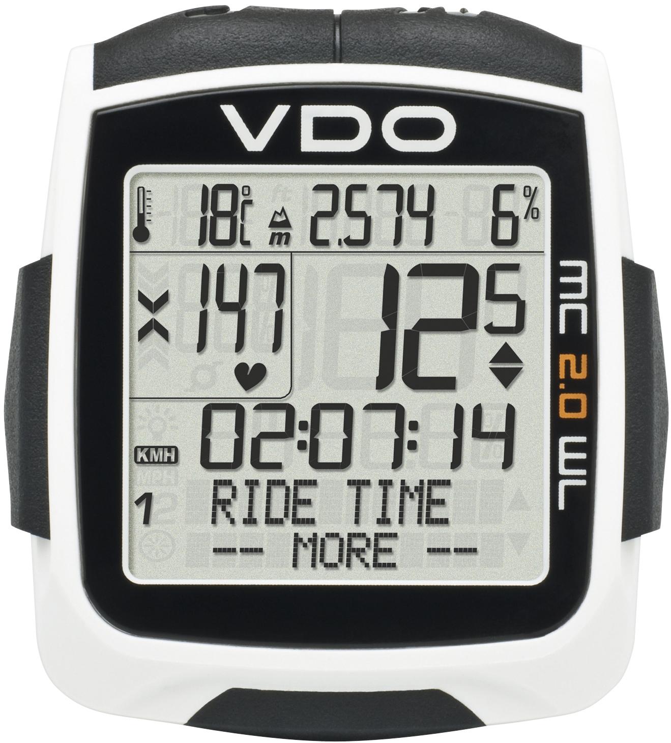 Vdo Mc 2 0 Wl Wireless Cycling Computer