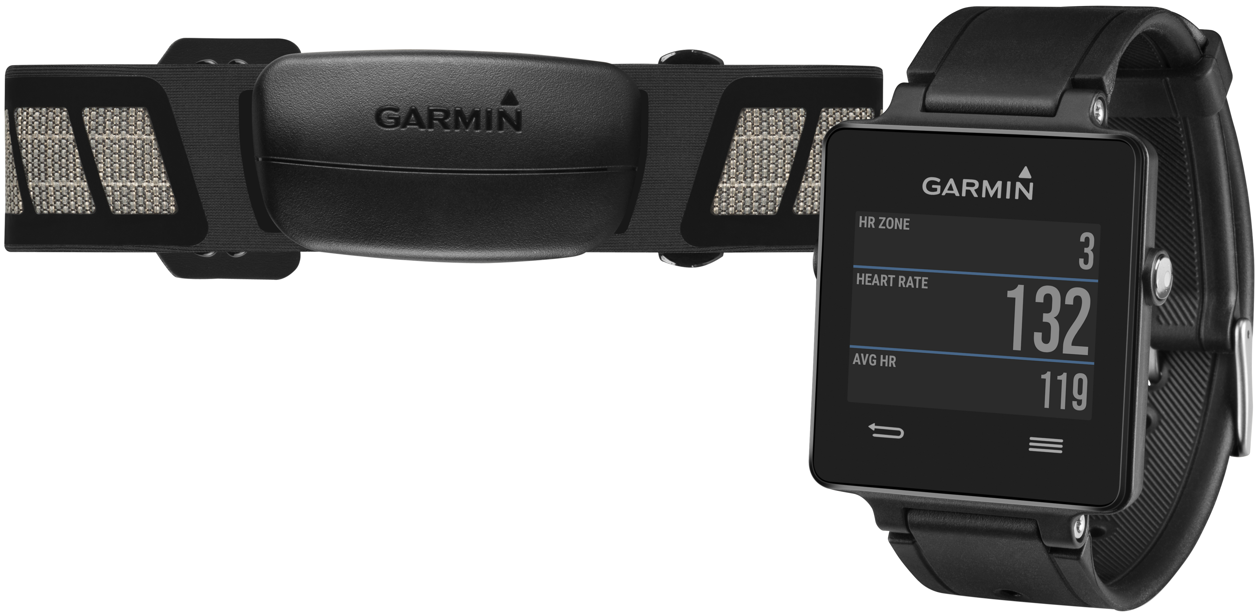 Garmin Vivoactive Activity Tracker Bundle - Unisex
